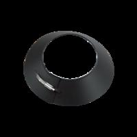 Stormkraag zwart Ø 80 mm
