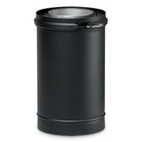 Dubbelwandig zwart Element 500 mm Ø 80/130