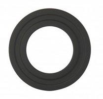 Rozet 15cm staal zwart Pro Pelletkachel