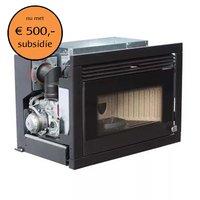 Elledi Vittorio pellet-inbouwhaard verwarmd volume 215 m³