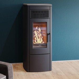 Nordic Fire Viktor zwart pelletkachel 10kw