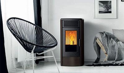 Nordic Fire Viktor zwart pelletkachel 8kw